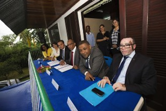 La Reunion, region, Comores, cooperation, interreg, antenne, inauguration, Didier Robert, president, international