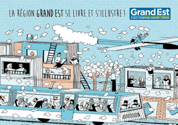 Grand Est, region, salon, livre, culture, stand, lecture, auteurs