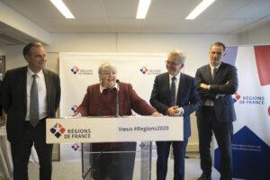 Régions, France, voeux, 2020, présidents, Jacqueline Gourault, ministre, Cohésion, territoires