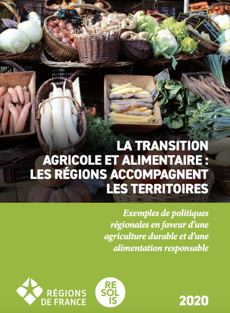 transition, agricole, alimentaire, régions, France, territoires