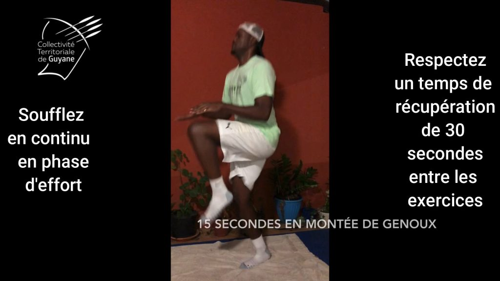 Guyane, covid-19, sport, confinement, forme, exercice, maison
