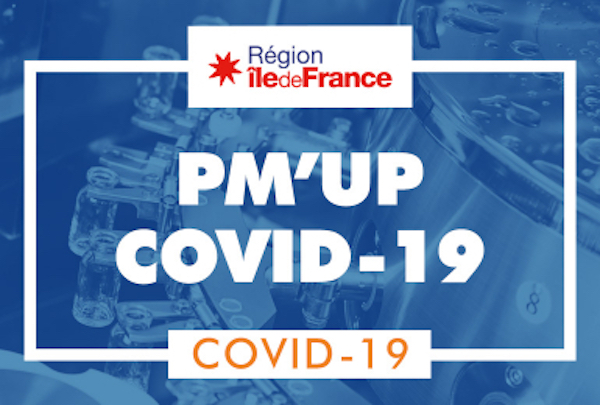 Ile-de-France, PM'UP, Covid-19, production, entreprises