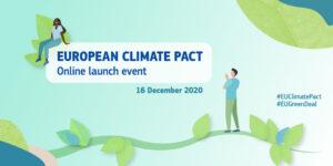 Pacte européen pour le climat, le pacte vert européen, commission européenne