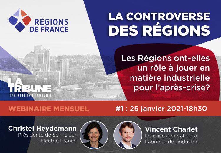 régions, controverse, France, webinaires, industrie, crise, Covid-19