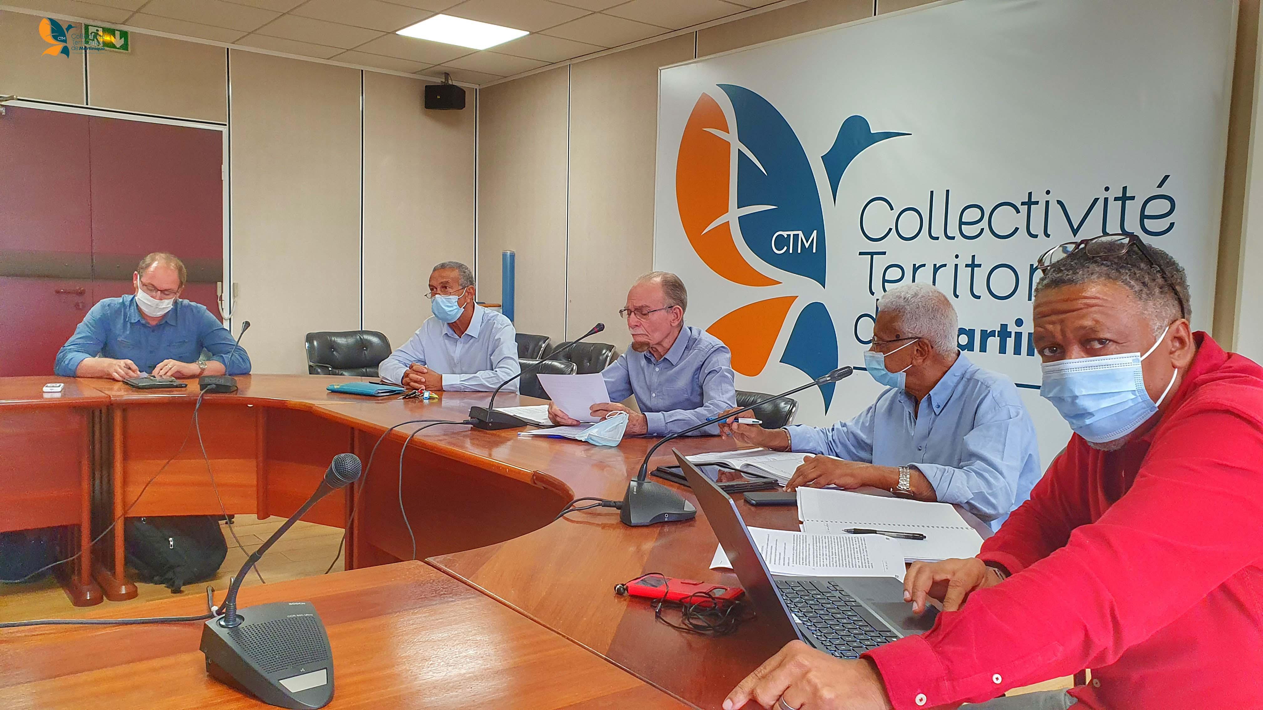 octroi de mer, négociations, Collectivité territoriale de Martinique