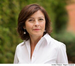 Carole Delga, portrait, journée de la femme, 2021, Occitanie