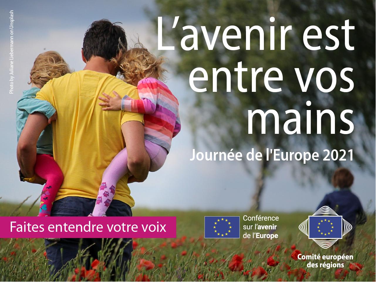 Journée, Europe, 2021, comité, Régions, Strasbourg