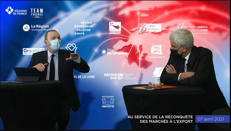 Export, régions, France, team, entreprises