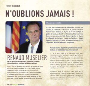 raconte moi une histoire, Outre mer, Renaud Muselier